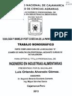 Alvarado (TESIS PERU) Fisiología y Manejo Postcosecha de La Papaya
