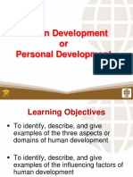 1 Human Development or Personal Development