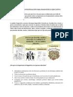Ficha de Investigación Para Diagnóstico Educativo
