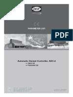 Parameter List - QC4002