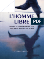 Mathieu Laine, Guido Hülsmann - L'Homme Libre_ Mélanges en l'Honneur de Pascal Salin (2006, Les Belles Lettres)