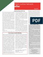 Prison Justice Network Newsletter #11