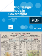Scaling Design Methods in Government