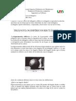 Tringulos Esfericos Rectangulos Carolina Castillo