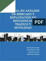 Manual en Analisis de Mercado y Explotación en Estudios de Tráfico y Mov...