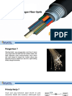 Modul Dasar Jaringan Fiber Optik Power Point