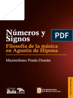 Prada Dussan Maximiliano - Numeros Y Signos - Filosofia de La Musica en Agustin de Hipona
