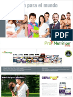 Brochure Pronutrition 2017