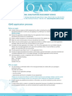 WIA IM IQAS Application Process
