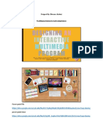 interactive learning project
