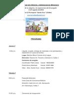 Programa Del v Coniam Callao 1