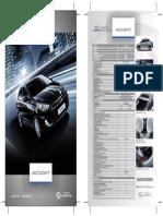 Hyundai Accent Ficha Tecnica Gl Full Gl Sport Peru
