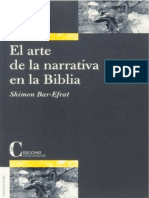 BAR EFRAT, Shimon (2003), El Arte de La Narrativa en La Biblia. Madrid, Ediciones Cristiandad