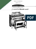 Manual Hammond a-100