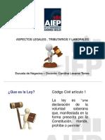 Clase 2 Aspectos Legales