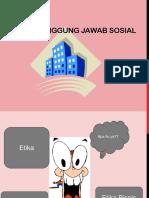 Minggu II Etika & Social Responsbility