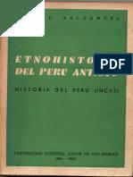 Etnohistoria Del Peru Antiguo
