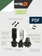 Datasheet CEO CAIXA EMENDA ÓPTICA 3 NETWORK