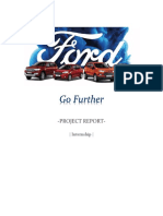 Ford Internship Report