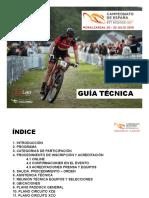 Campeonato España BTT 2018 Moralzarzal Guía-Técnica-2018