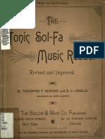 LMA)Tonic Sol-fa Music Reader