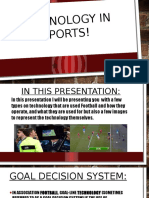 technology in football  2