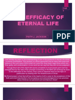 Eternal Life; The Finished Work