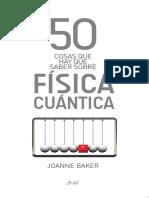 50 Cosas Física Cuántica. Joanne Baker.