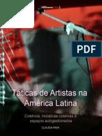 Docslide.com.Br Taticas de Artistas Na America Latina Coletivos Iniciativas Coletivas e