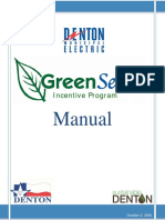 GreenSense Incentive Program Manual 2017