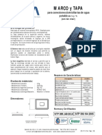 AISA - Ficha Tecnica - MT1-MT3 - Marco y Tapa (Con Visor) - Agua Potable V10.