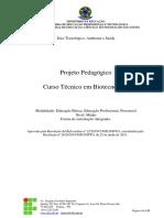PPC - Técnico Em Biotecnologia - If Tocantins