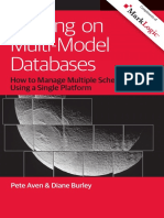 Building on Multi Model Databases