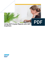 Using SAP Crystal Reports With SAP Sybase SQL Anywhere
