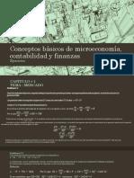 Conceptos Básicos de Microeconomía, Contabilidad y Finanzas Ejercicios
