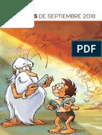 Novedades de ECC Ediciones de Septiembre 2018