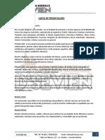 Carta de Presentacion - D`Sevien