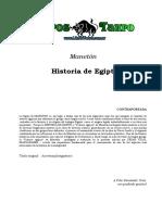 Maneton - Historia de Egipto