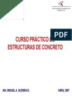 Curso Práctico de Estructuras de Concreto