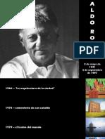 Ciudad Analoga Aldo Rossi