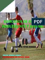 Ejercicios de Fútbol Adolescente y Juvenil