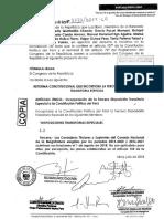 Proyecto de ley 3122 para sacar del cargo a todos los integrantes del CNM
