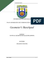 Geometer sketchpad