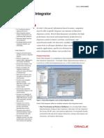 Oracle Data Integrator Data Sheet