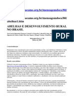 Abelhas e Desenvolvimento Rural No Brasil