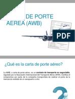 CARTA DE PORTE AÉREA (AWB).pptx