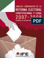 AnalisisComparativoRefElect2007-2008