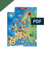 Rompecabezas Europa