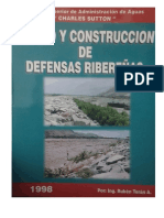 MANUAL Defensas Ribereñas Ruben Teran Edicion 1 Libro PDF
