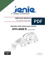 GTH 6025 Service Manual